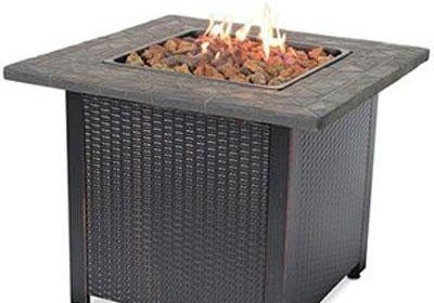 Endless Summer Gad1401m Lp Gas Outdoor Fireplace Patio