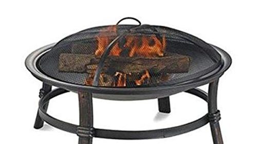 Endless Summer WAD15121MT Brushed Copper Wood Burning Outdoor Firebowl