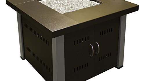 Az Patio Heaters Fire Pit Propane In Two Tone Hammered Bronze And